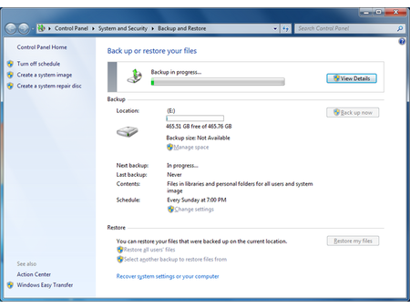 How To Set Up An Automated File Backup In Windows 7