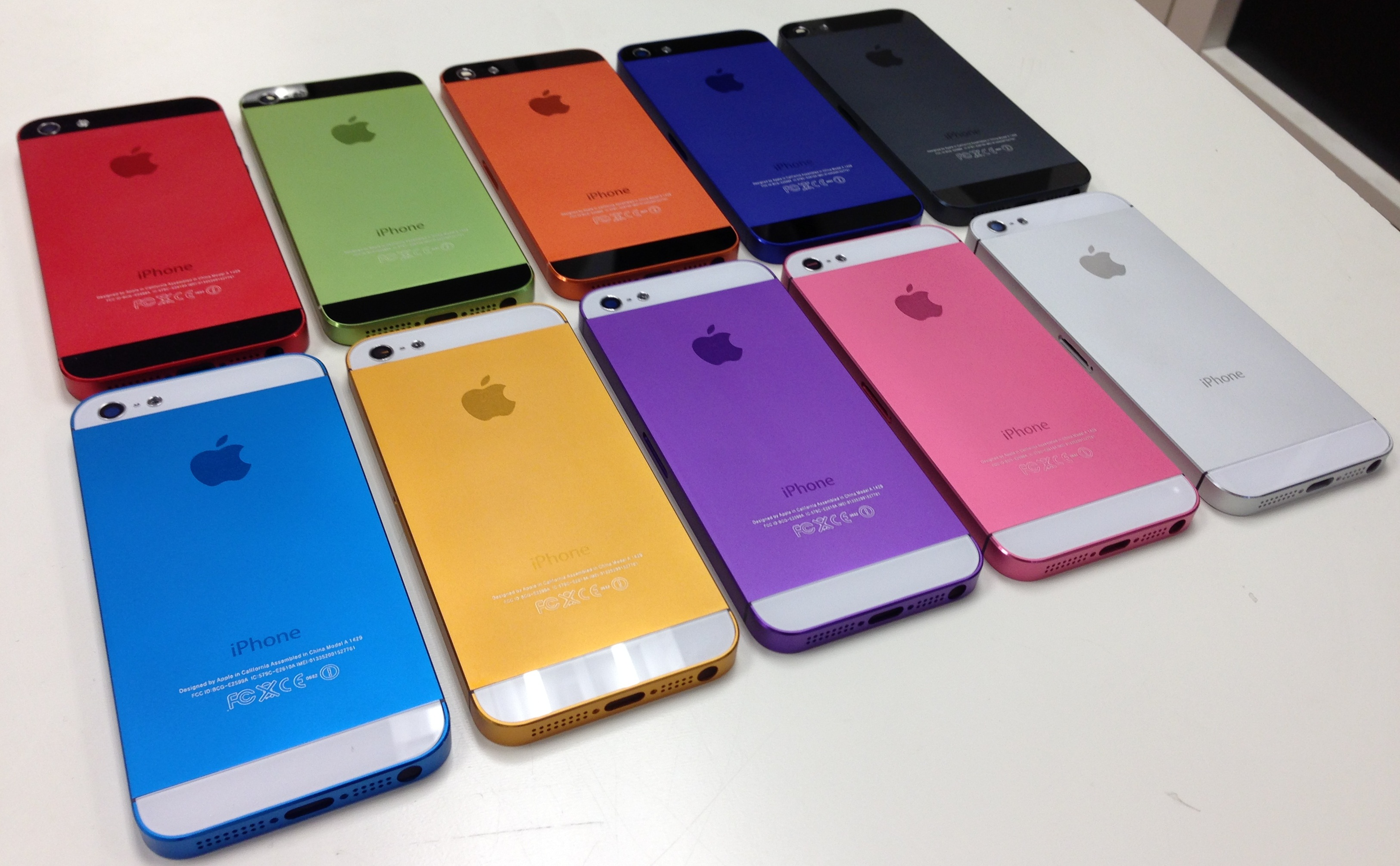 Best NYC iPhone 5 color conversion