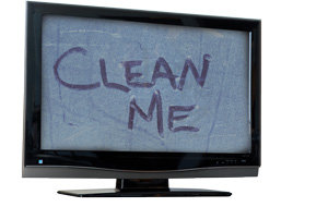 How To Clean A Tv Smart Tv Screen Best Way To Clean A