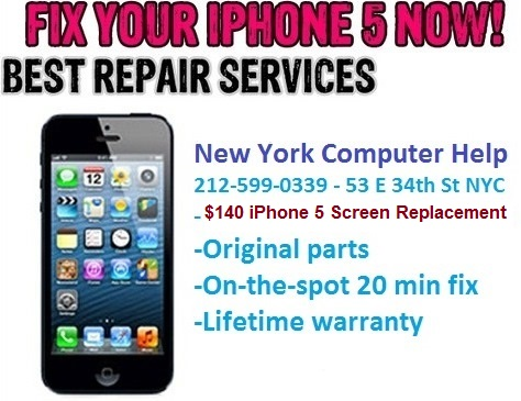 Best Nyc Iphone 5 Repair Cheapest Nyc Iphone 5 Repair