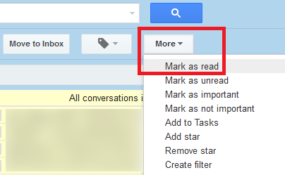 How To Mark All Emails As Read In Gmail Mark Gmail As