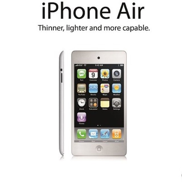 Iphone 6 Is Dubbed Iphone Air But Of Course When Is The