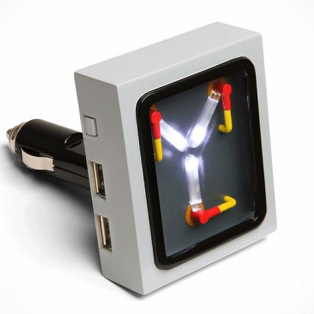Add USB Ports To Your Car With This Back To The Future Plutonium DeLorean  Gadget. #GreatScott #WeDontNeedRoads #newyorkcomputerhelp