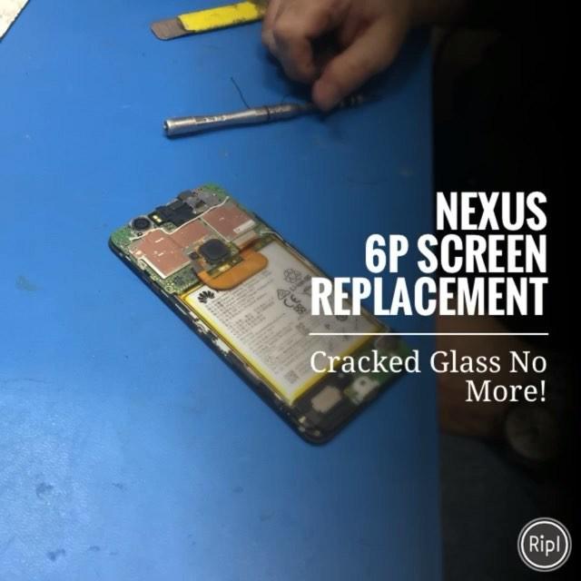Inside the Nexus 6P. #Nobiggie #Nexus6PScreenRepairNYC #CrackedGlassAnyone? #newyorkcomputerhelp