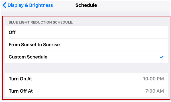 How To Reduce Eye Strain On Your Iphone How To Set Up
