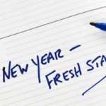 New Year Fresh Start Notebook