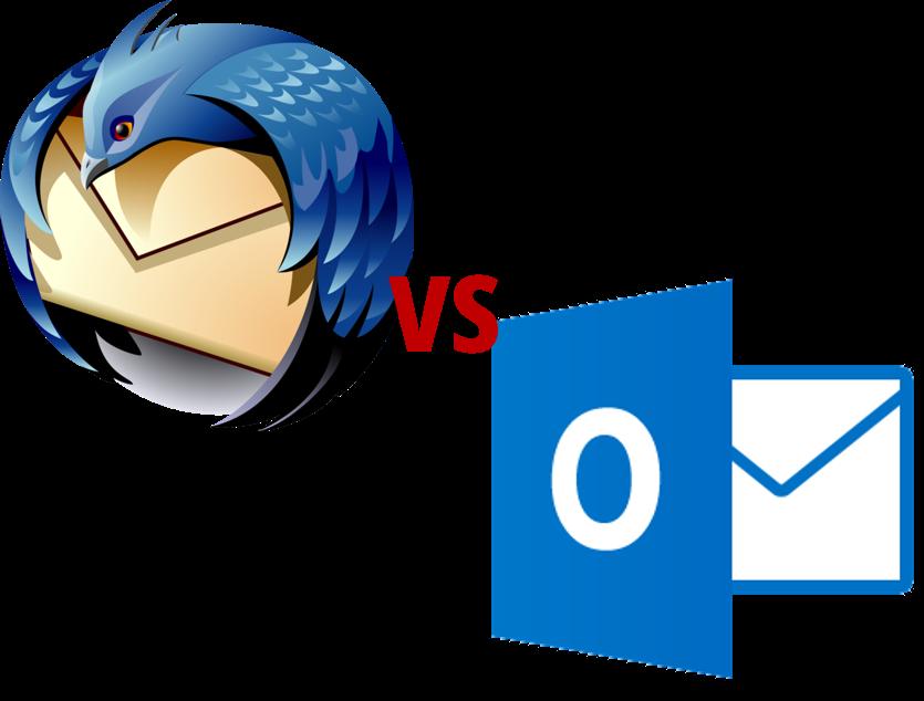Is Thunderbird Better Than Outlook Outlook Vs Thunderbird