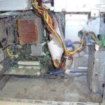 Dirty desktop computer