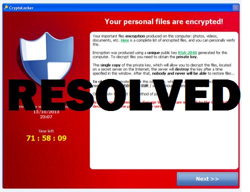 How To Remove The Cryptolocker Virus Nyc Cryptolocker