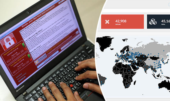 Countries hit by cyber attack