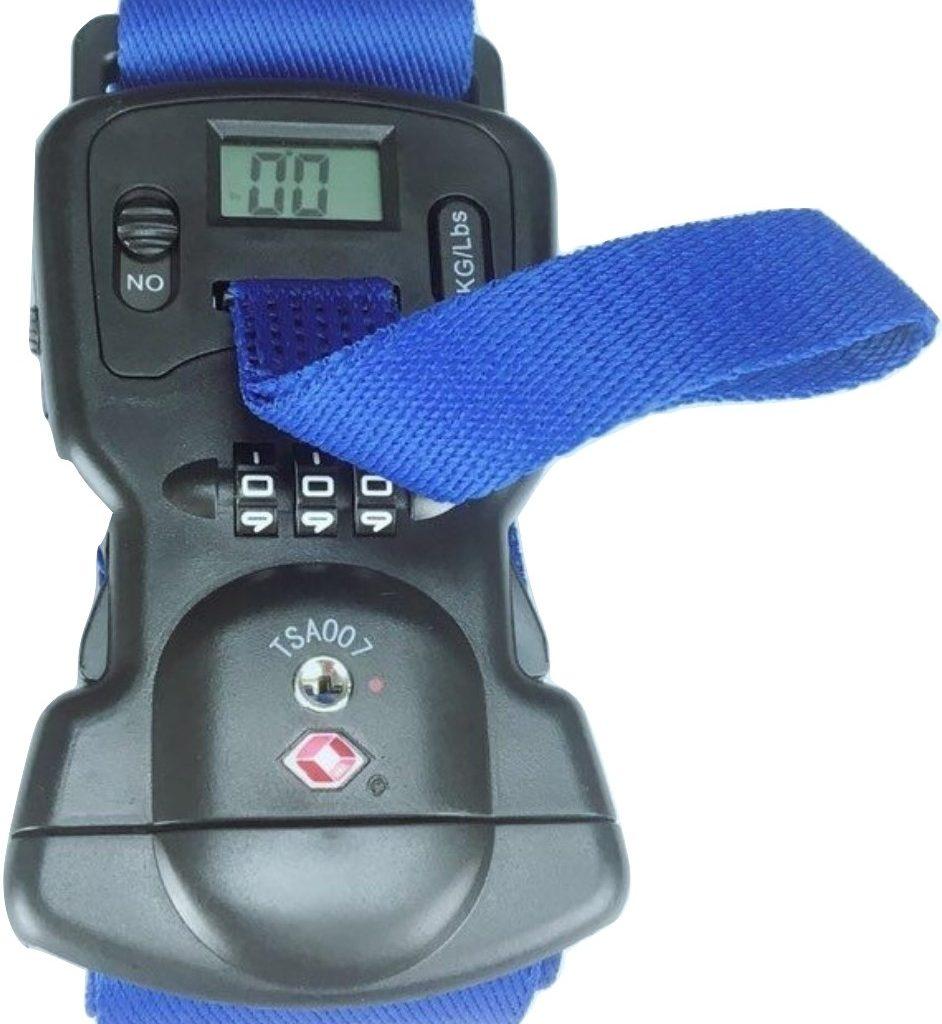 luggage tsa lock scale belt strap