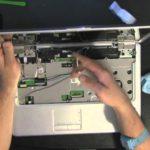Open laptop to fix it