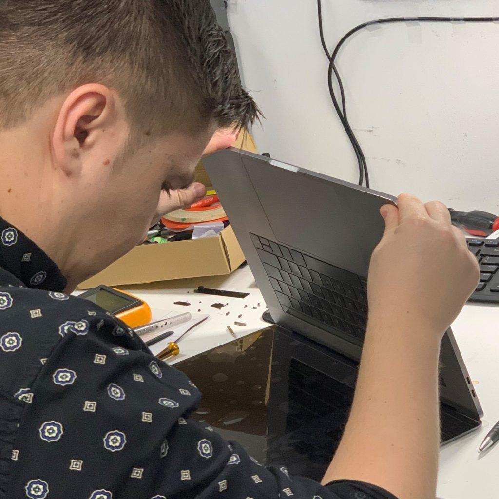 Diagnosing a MacBook for logic board repair