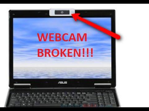 Webcam broken