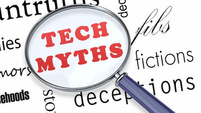 Top 3 myths